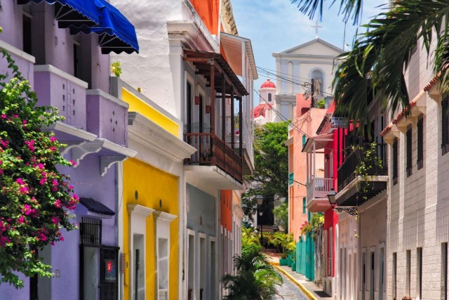Bright and breezy: Old San Juan